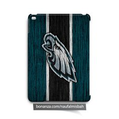 Philadelphia Eagles on Wood iPad Air Mini 2 3 4 Case Cover
