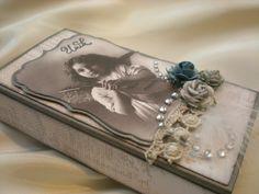 A vintage box by Iren S. Mikalsen