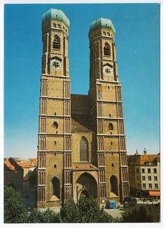 Amazing Frauenkirche Munich Germany