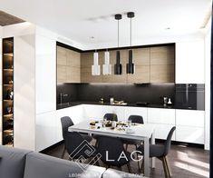 Modern Kitchen Interiors, Modern Kitchen Cabinets, Kitchen Decor, Kitchen Tiles Design, Modern Kitchen Design, Small U Shaped Kitchens, Kitchen Showroom, Home Decor Furniture, Architecture
