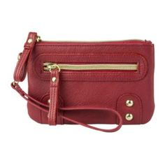 Mundi® Midas Touch Walking the Dog Wristlet   found at @JCPenney