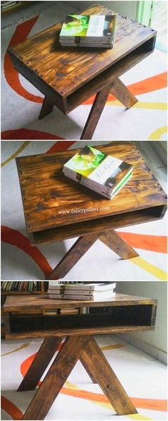 Grabbing some fascinating as well as super thoughts of the wooden pallet: Wooden Pallet for Your Home Decor: wooden pallets ideas: pallet furniture: Diy Wooden Pallet Table, Pallet Wall Decor, Wooden Pallet Furniture, Wooden Pallets, Wooden Diy, Pallet Wood, Diy Pallet Projects, Furniture Projects, Diy Furniture