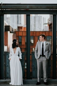 '70s Inspired Vancouver Wedding at The Permanent