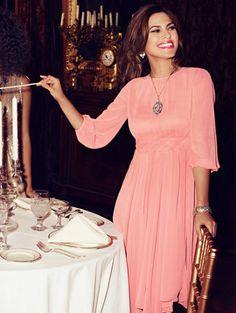 Eva Mendes Collection - Chiffon Pleat Dress - New York Rocks Fashion Bug holiday style picks Fashion Night, Girl Fashion, Fashion Tips, Classy Outfits, Chic Outfits, Eva Mendes Collection, Pose, How To Look Classy, Stunning Dresses