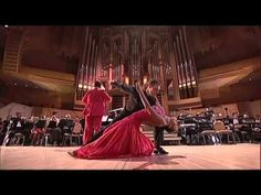 "Moscow City Symphony ""Russian Philharmonic"" Phonograph Jazz Band Conductor -- Honoured Artist of Russia Sergey Zhilin Soloists -- Yuri Medyanik (bandoneon), . Dance Videos, Music Videos, Dance Oriental, Tango Dance, Argentine Tango, Shall We Dance, Jazz Band, Music Heals, Through The Looking Glass"