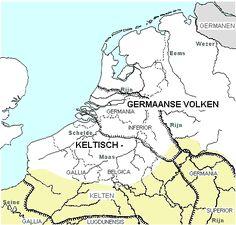 gallische stammen - Google zoeken De Romijnse legers wisten duidelijk goed waar Germaans en Keltisch volk woonde