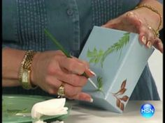 One Stroke Painting Project with Donna Dewberry - Keepsake Box
