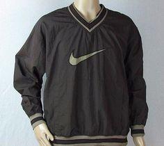 Mens Nike Air Swoosh Pullover Windbreaker Nylon Jacket Size Large Jordan  Maroon 107475fd0