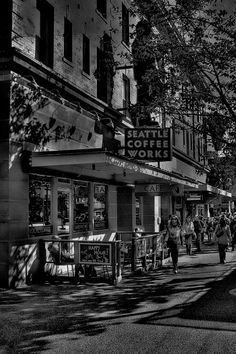 Seattle Coffee Works Photograph - Seattle Coffee Works Fine Art Print - David Patterson
