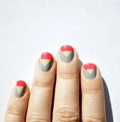Nails angles art