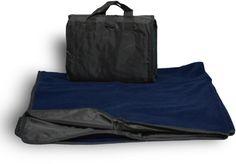 Waterproof Picnic Blanket- Black / Navy - 24 Units