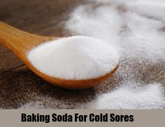 baking soda cold sores remedy - Google Search