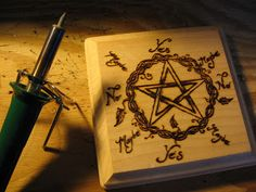 How to make a Pendelum Board!             A Natural Witch- Grimoire of Life and Practice
