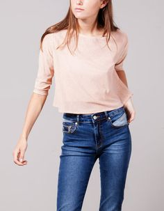 At Stradivarius you'll find 1 Lurex top for woman for just 4995 Hungary . Visit now to discover this and more T-SHIRTS.