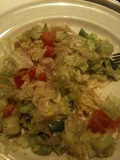 Salad from Frankie & Johnnie's Steak House