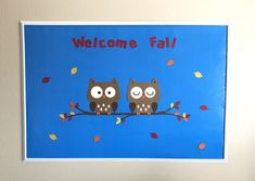 Fall Bulletin Board Set, Fall Bulletin Board Decorations, Owl Bulletin Board, Classroom Bulletin Board Set, Owl Classroom Decoration