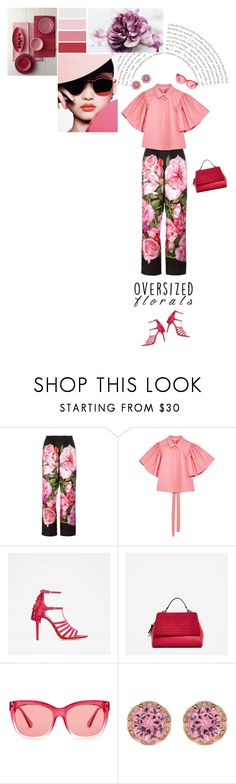 """""""Statement Sleeves"""" by stavrolga on Polyvore featuring Dolce&Gabbana, Piel Leather, Seed Design, Coach, Betsey Johnson, polyvoreeditorial, oversizedflorals and embellishedsleeves"""
