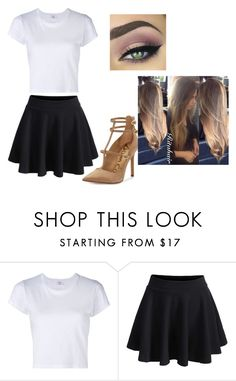 """""""Untitled #668"""" by lorenaisrandom on Polyvore featuring RE/DONE, WithChic and Sam Edelman"""