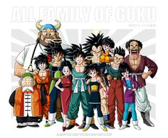 Familia Goku Final by albertocubatas on DeviantArt