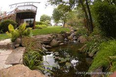 Backyard Pond Pictures, Images, Photos   sabrina's back yard!