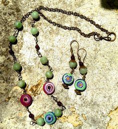 Jade, Glass & Brass