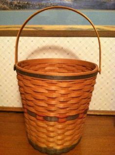 Great Large Longaberger Basket!  Ending soon!