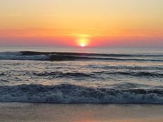 nothing is more beautiful than an OBX sunrise <3