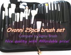 [Ovonni 29pcs Brush Set]Compare to Sigma Brush, nice quality with affordable price!