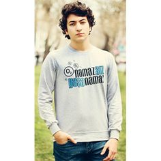 MY WAY ISLAM Namazsız Yaşanamaz, sweatshirt, İslami mesajlar veren Tişörtler Graphic Sweatshirt, Sweatshirts, Sweaters, Fashion, Moda, Fashion Styles, Trainers, Sweater, Sweatshirt