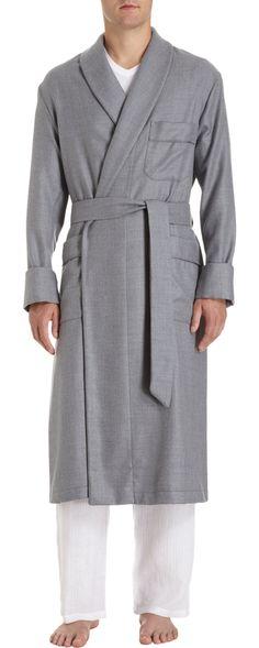 Barneys New York Brushed Robe
