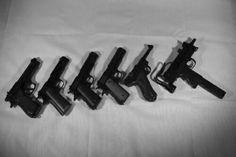 Gun .