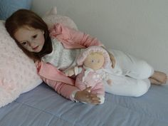***Gorgeous*** ** Nicole **Toddler** doll Kit by Artist N Blick to reborn Reborn Child, Reborn Toddler Dolls, Child Doll, Reborn Dolls, Girl Dolls, Real Baby Dolls, Realistic Baby Dolls, Silicone Reborn Babies, Silicone Dolls