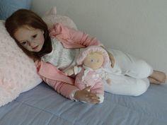 "Gorgeous 40"" Nicole Toddler Doll Kit by Artist N Blick to Reborn | eBay"