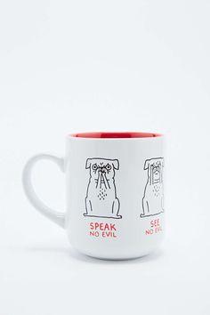 Gemma Correll Pug Mug