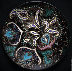 Евгения Ансари (Ev-Ans) Тарелка декоративная Water orchid