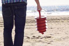 Proteja sus pertenencias mientras disfruta de un día de playa