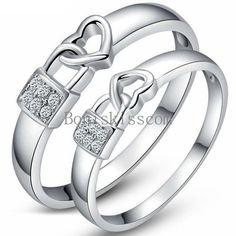 Fashion Unisexe Bijoux Or Citrine Banquet Cadeau Silver Ring Taille 6 10 Cadeau