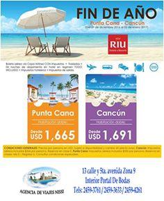 ¿Listos para el fin de año? Agencia de viajes Nissi te lleva a los mejores lugares a un precio accesible y con un buen servicio. Tu viaje espera.  #DejateConsentirPorPortal  Estamos en: 13 calle, 5°avenida, zona 9, Portal de Bodas. Teléfono: (502) 2459-4261 / 2459-3633 / 2459-3761 E-mail: agenciasdeviaje.nissi@gmail.com