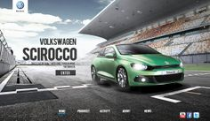 Volkswagen Microsite by AZ , via Behance
