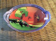 Lustreware Takito TT Handle Dish, Hand Painted, Circa 1930's Butterflies | Pottery & Glass, Pottery & China, China & Dinnerware | eBay!