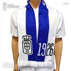 Official Tubular scarf  for REAL OVIEDO, seasson 2014-2015.
