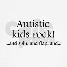 Autism autism spectrum, autism awar, asd, autist kid, autistic kids, spectrum disord, kid rock, quot, rocks