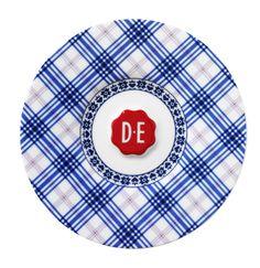D.E Hylper koffieschotel - blauw, blue #schotel #coffee #saucer #HylperHeritage #DouweEgberts