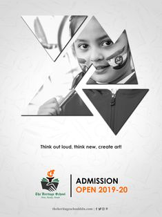 The best ICSE school in Dehradun believes in inculcating education beyond classrooms. Being the top school in Dehradun its our aim to polish the potential of each child. School Advertising, Creative Advertising, Advertising Design, Creative Banners, Creative Posters, Heritage School, Hd Design, Brochure Cover Design, Holistic Education