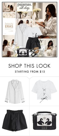 """Pajamas all day"" by katik27 ❤ liked on Polyvore featuring Frame"