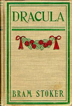 """May 26th, 1897;  Bram Stoker's """"Dracula"""" is published."""