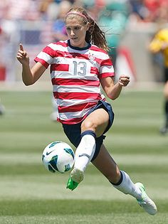 Alex Morgan has 17 goals in 15 games for Team USA this year.
