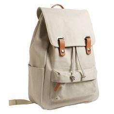 The Twill Backpack from Everlane - Bone $65