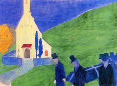 Marianne von Werefkin (1860-1938) Uit die overweging stelde ze haar huis open voor iedereen die maar in kunst geïnteresseerd was. In haar Salon werd veelvuldig over kunstzinnige theorieën gedebatteerd. Omdat zij theoretisch uitstekend onderlegd was, deed Marianne in dat opzicht niet onder voor de mannelijke kunstenaars uit haar kring.