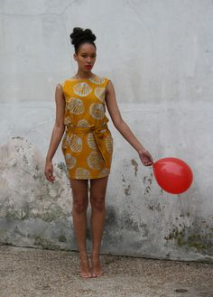 fair trade dress by Choolips, hand batiked in Ghana - love!